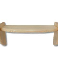 Malá dřevěná polička Vitalis