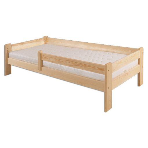 Moderní dřevěná postel Arias s laťkovým roštem v ceně