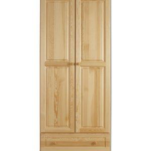 Moderní dvoudveřová šatní skříň Aliseon