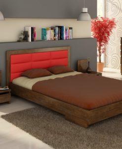 Moderní nábytek do ložnice Inga z masivu buku