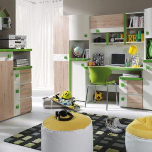 Moderní sestava nábytku do dětského pokoje Adrien