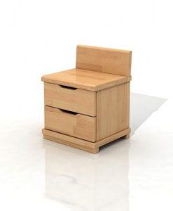 Noční stolek z bukového masivu Christel