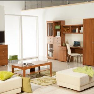 Obývací pokoj s pracovním koutem Madelin