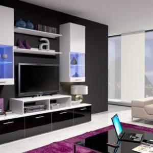 Obývací stěna - sestava Stacie