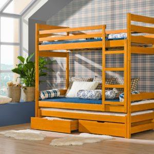 Patrová postel Daria s přistýlkou