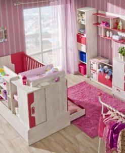 Pokojíček pro miminko s rostoucí postýlkou Noly 5