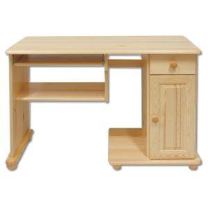 Praktický masivní psací stůl Helmi z borovice