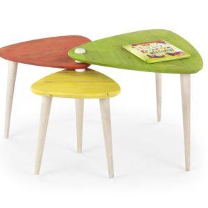 Rozkládací konferenční stolek Elead - kaučuk