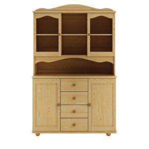 Rustikální dřevěný kredenc Hervor