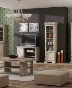 Rustikální obývací stěna Gladys 1