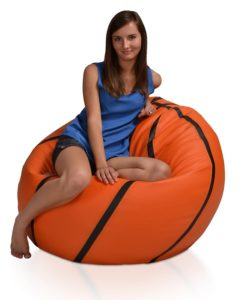 Sedací míč Basketbal XXL