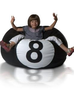 Sedací míč Kulečníková koule XXL (2XL)