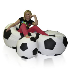 Sestava sedacích míčů Fotbal (L + XXL + XXXL)