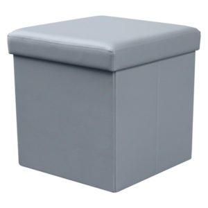 Taburet Elermo 3 - šedý