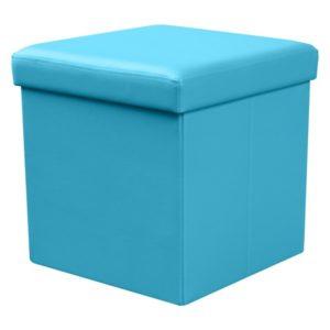 Taburet Elermo 5 - modrý
