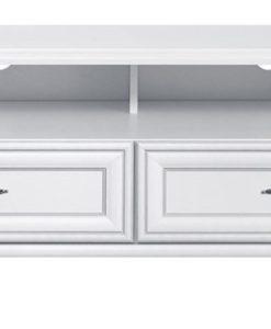 Televizní stolek Lettore - bílý