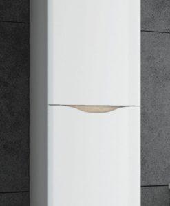 Vysoká závěsná koupelnová skříňka Fabiana 1