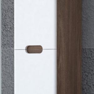 Vysoká závěsná koupelnová skříňka Priscila 1