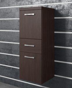 Závěsná skříňka do koupelny Horace 3 - wenge