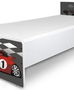 Jednolůžková dětská postel Racing Car 1