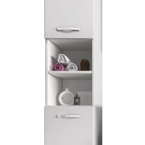 Vysoká koupelnová skříňka Manela bbl 1