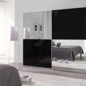 Zrcadlová šatní skříň Darvin 22