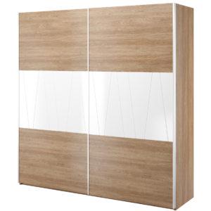 Šatní skřín s posuvnými dveřmi Janet