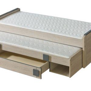 Jednolůžková postel s přistýlkou Allarica 3