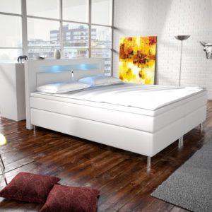 Kontinentální manželská postel Mikela